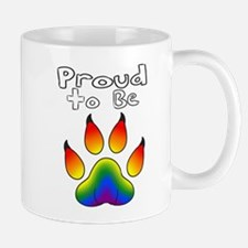 Proud To Be LGBT Furry Mugs