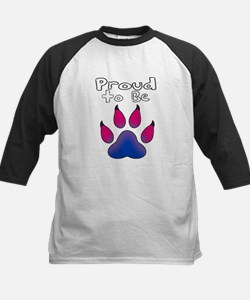 Proud To Be Bisexual Furry Baseball Jersey