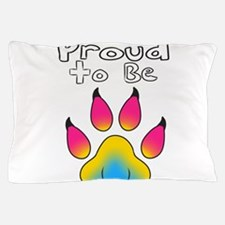 Proud To Be Pansexual Furry Pillow Case