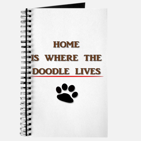 Home is Where the Doodle Lives Journal