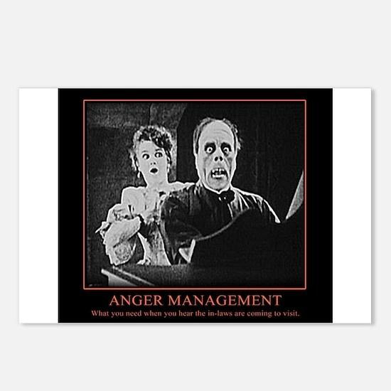 Phantom of the Opera meme Anger Management Postcar