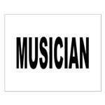 Musician Small Poster