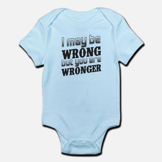 I may be wrong, but you are wronger. Gr Body Suit