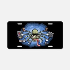 Hobo Spider Aluminum License Plate