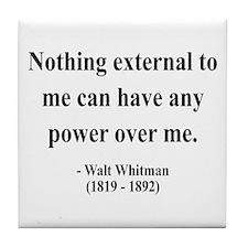 Walter Whitman 6 Tile Coaster