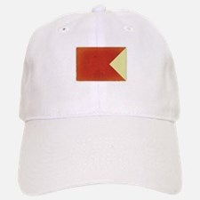 B - Nautical Flag Baseball Baseball Cap