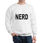 Nerd (Front) Sweatshirt