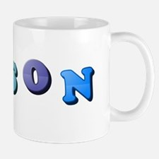 Mason (Colored Letters) Mugs
