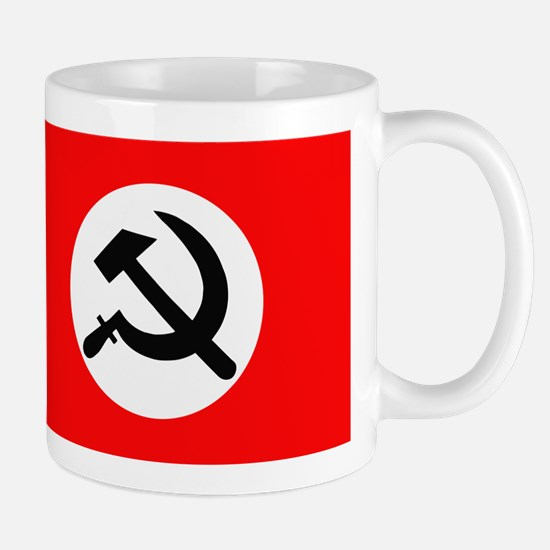 National Bolshevik Party Flag Mugs