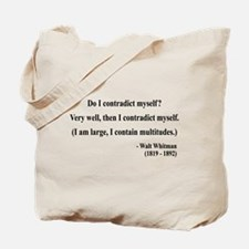 Walter Whitman 7 Tote Bag