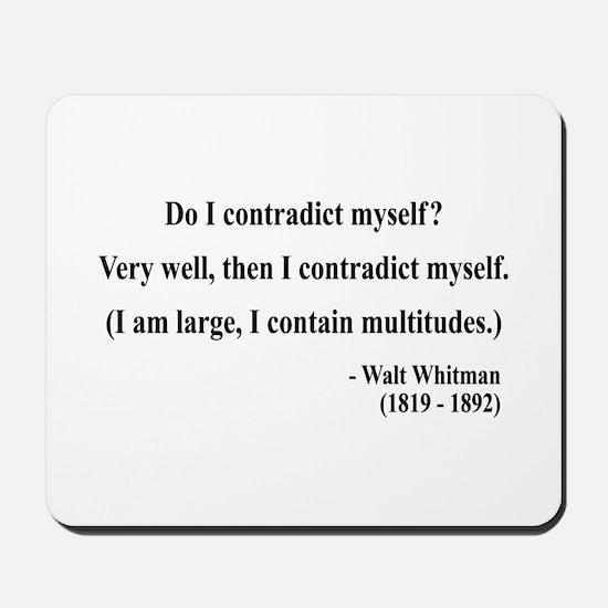 Walter Whitman 7 Mousepad