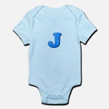 J (Colored Letter) Body Suit