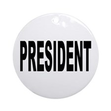 President Ornament (Round)