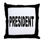 President Throw Pillow