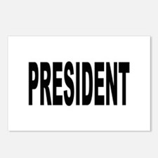 President Postcards (Package of 8)