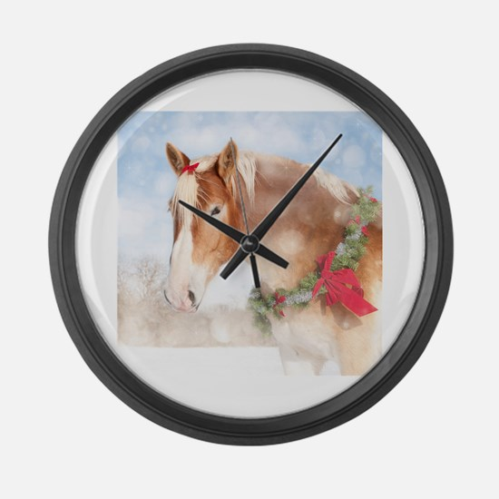 Unique Horse eye Large Wall Clock