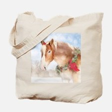 Funny Horse feed Tote Bag