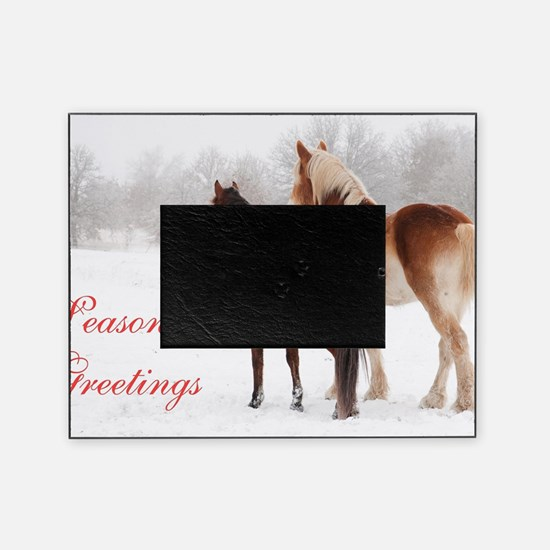 Horse eye Picture Frame