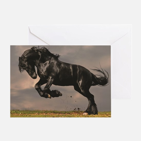 Horse with foal Greeting Card