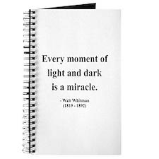 Walter Whitman 8 Journal