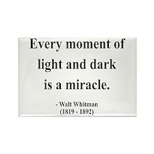 Walter Whitman 8 Rectangle Magnet
