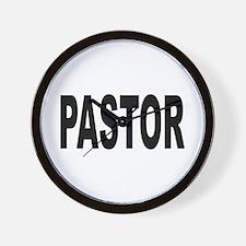 Pastor Wall Clock