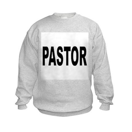 Pastor (Front) Kids Sweatshirt