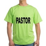 Pastor (Front) Green T-Shirt