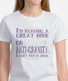 Anti-Gravity Books Funny T-Shirt
