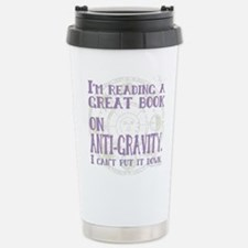 Anti-Gravity Books Funn Stainless Steel Travel Mug