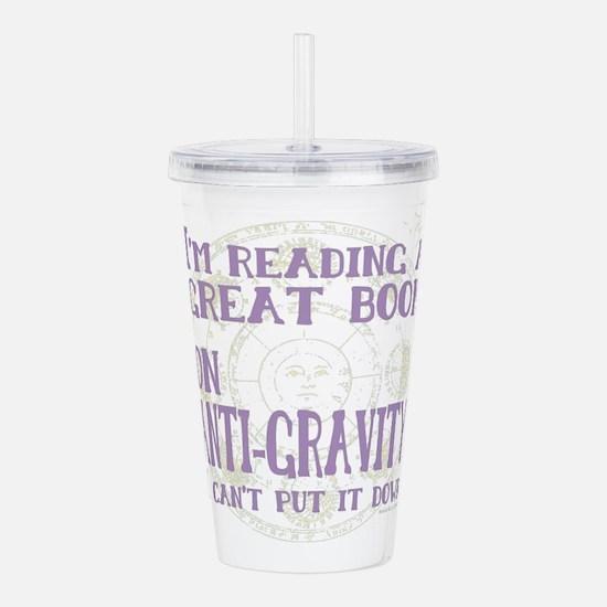Anti-Gravity Books Fun Acrylic Double-wall Tumbler