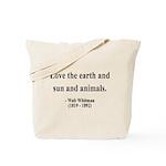 Walter Whitman 9 Tote Bag