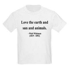 Walter Whitman 9 T-Shirt
