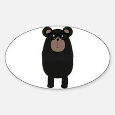 Nerd Black Bear Decal