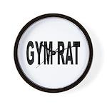 Gym Rat Wall Clock