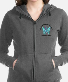 Thyroid Cancer Butterfly 6.1 Sweatshirt
