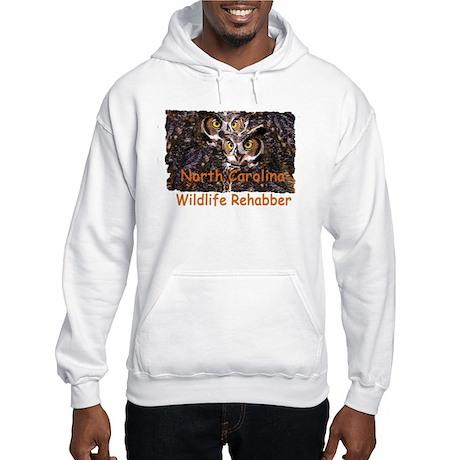 NC Owl Hooded Sweatshirt