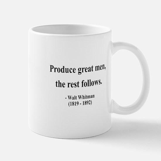 Walter Whitman 10 Mug