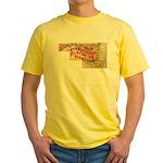 Flat Maryland Yellow T-Shirt