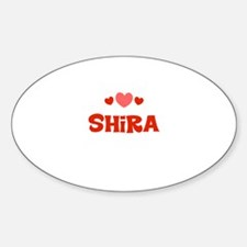 Shira Oval Decal