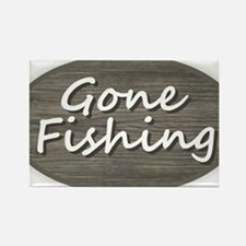 Gone Fishing Magnets