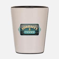 Sober 2 Years - Alcoholics Shot Glass