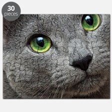 Cool Russian blue cat designs Puzzle