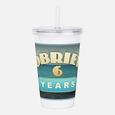 Sober 6 Years - Alcoho Acrylic Double-wall Tumbler