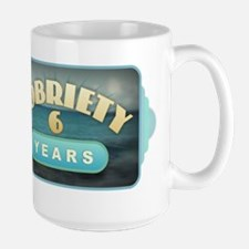 Sober 6 Years - Alcoholics Mugs