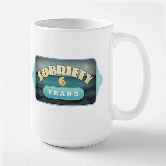 Sober 6 Years - Alcoholics Mugs