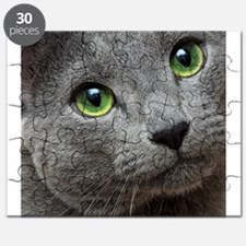 Russian Blue Cat Puzzle