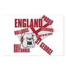 BULLDOGS Postcards (Package of 8)