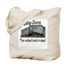 wicked truck Tote Bag