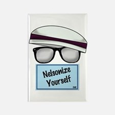 """Nelsonize Yourself"" Rectangle Magnet"